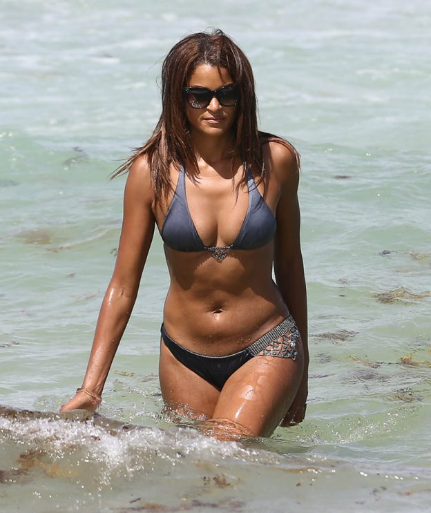 Claudia Jordan Beach Pic, Bikini and Ass