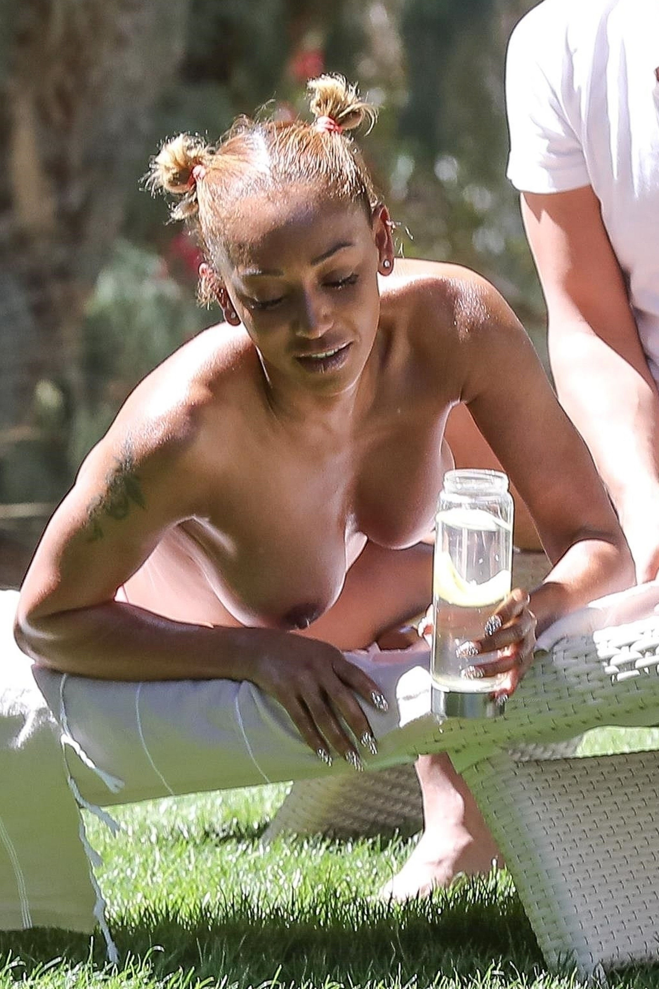 Melanie Brown Amazing Black Tits, Nude