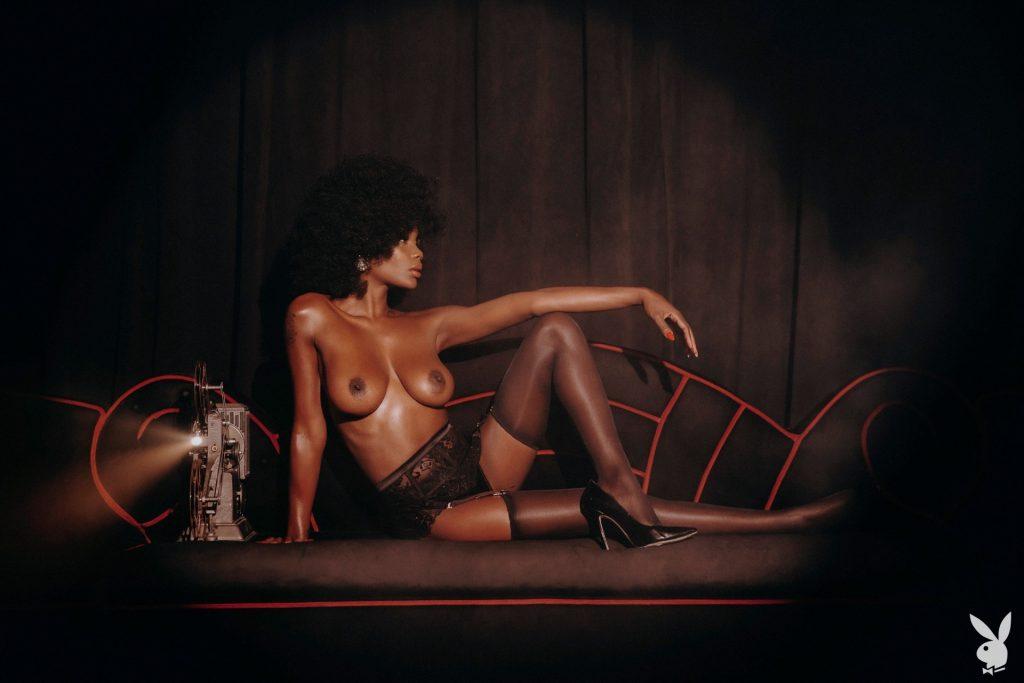 Chasity Samone Hot Photoshoot, Topless